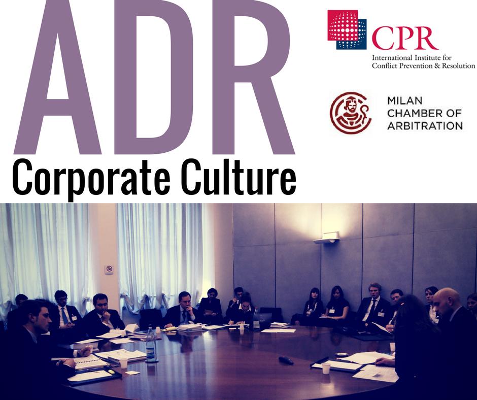 ADR corporate culture